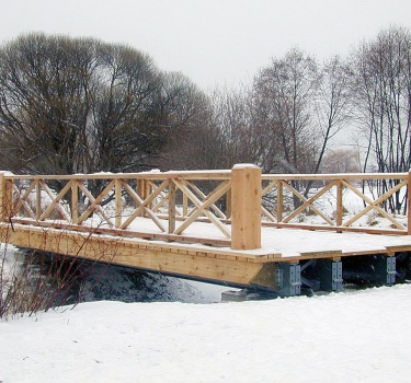 Bridge replacement, Central Experimental Farm, Ottawa