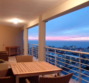 3-bed penthouse apartment, Cape Town, South Africa