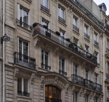 Pied-a-terre, Paris, France