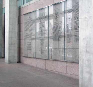 National Gallery of Canada, donor walls