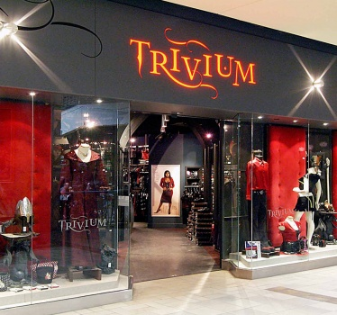 Trivium Gothic and Fetish store, Rideau Centre, Ottawa