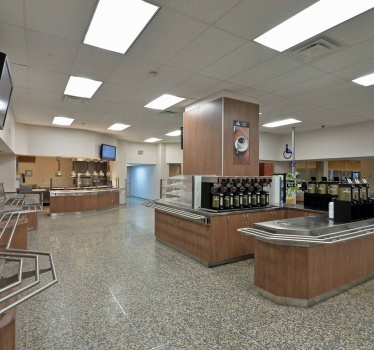 The Ottawa Hospital, General Campus, Café 501 refurbishment