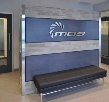 Staircase and entrance, MDS Aero, Ottawa