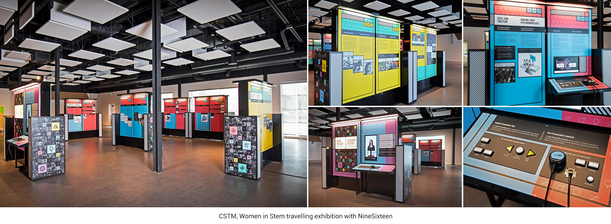 CSTM, Women in Stem travelling exhibition with NineSixteen