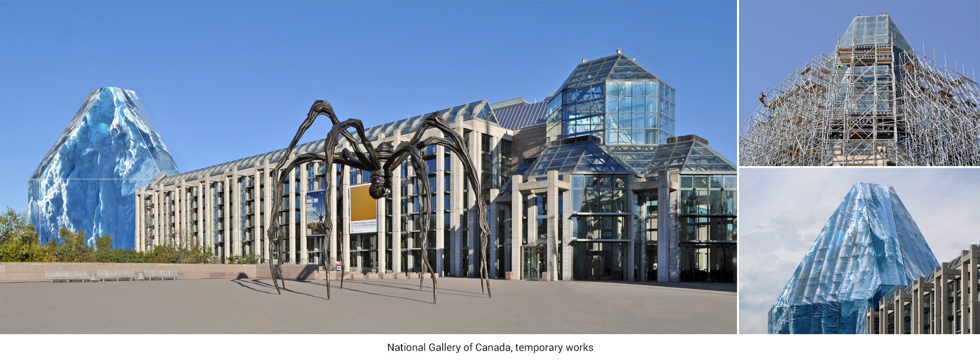 National Gallery of Canada, temporary works