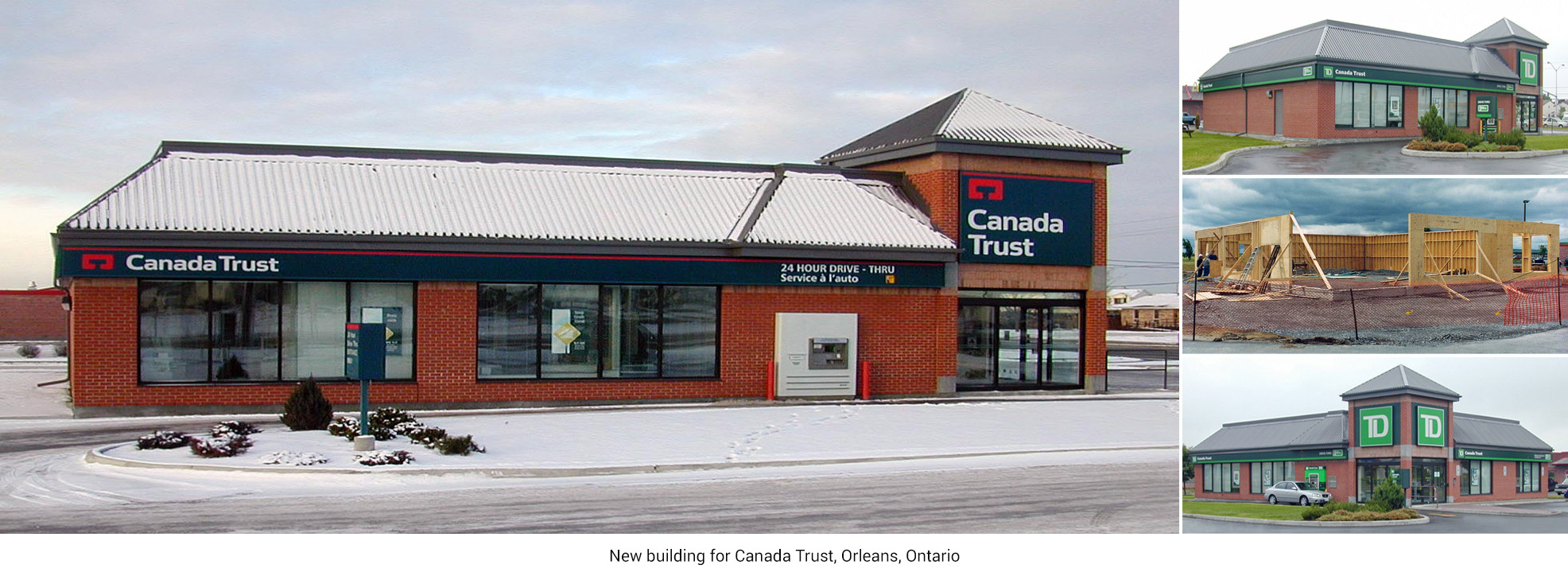 New building for Canada Trust, Orleans, Ontario