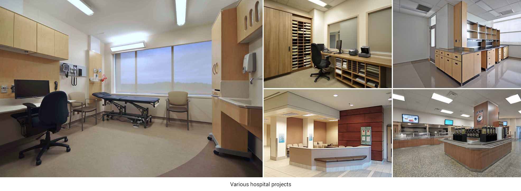 Various hospital projects