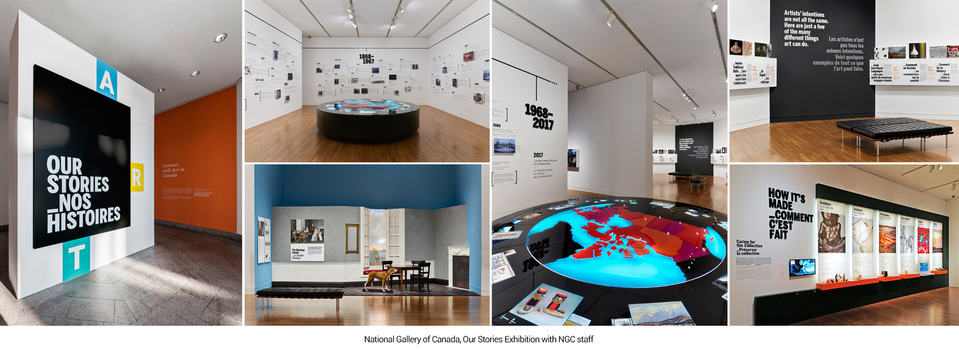 National Gallery of Canada, Our Stories Exhibition
